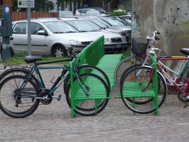 euroform w - urban furniture - bike racks - bike storage - Elegance 182