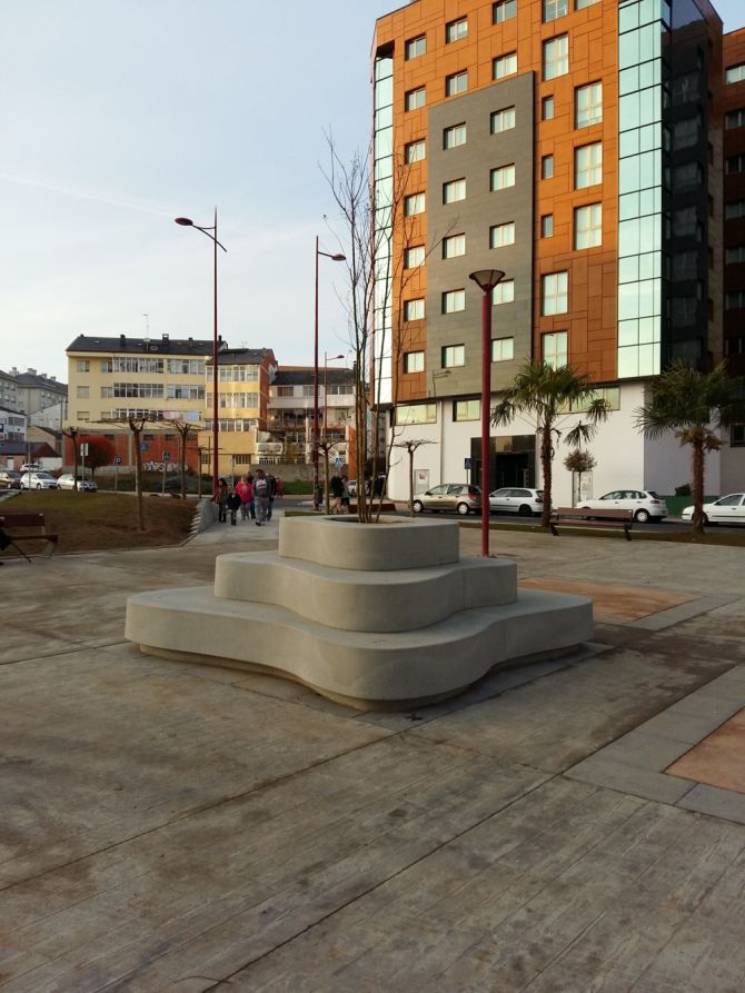 euroform w - urban furniture - benches concrete - seatings - Mago Urban - Crusoe
