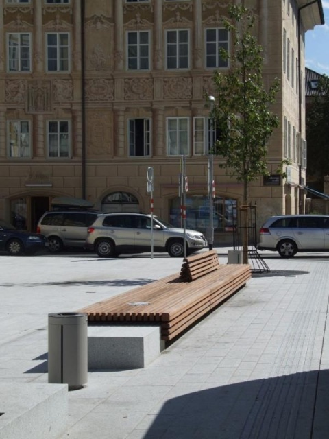 euroform w - urban furniture - benches wood - modular bench - customized