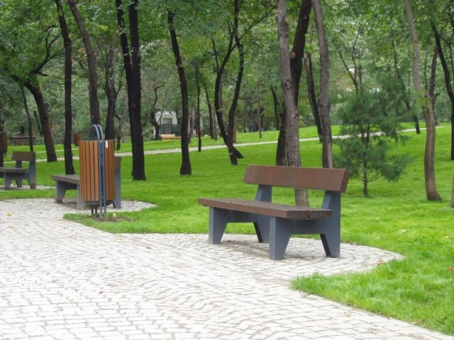 euroform w - urban furniture - benches wood - seatings - Block 90