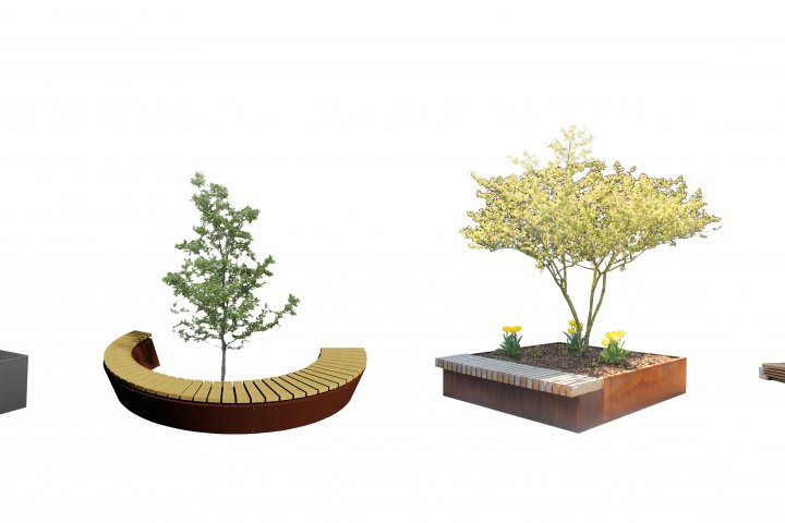 Personalized urban furniture